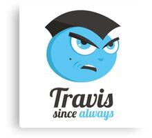 Taxi Driver Travis Canvas Print