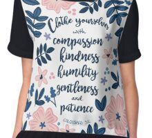 Colossians 3:12 Chiffon Top