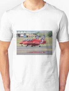 2 Reds Rolling - Farnborough 2014 Unisex T-Shirt