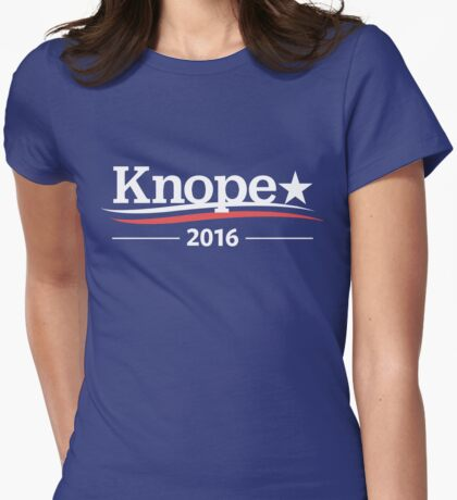 LESLIE KNOPE PAWNEE Parks and Rec 2016 Womens Fitted T-Shirt