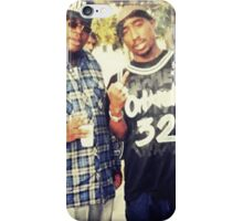 Tupac & E-40 iPhone Case/Skin
