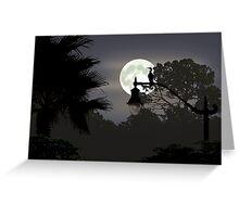 Florida Moonlight Greeting Card