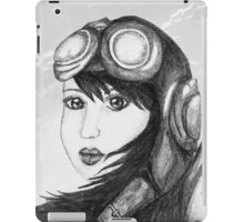 Angel Flight One - Preparing for Takeoff iPad Case/Skin