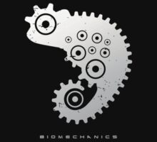 Biomechanics - Chameleon - Silver by Brad Sharp