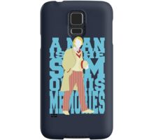Quotable Who - Fifth Doctor Samsung Galaxy Case/Skin
