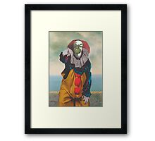 IT's Pennywise in The Son of a Man Framed Print