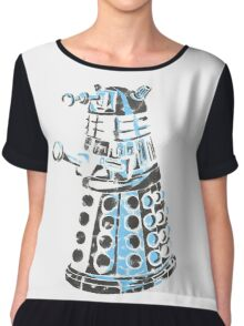 Dalek Graffiti Chiffon Top