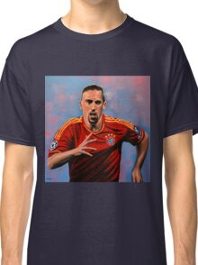 Franck Ribery painting Classic T-Shirt