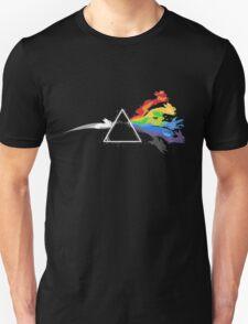 Eeveelution Dark Side of the Moon Unisex T-Shirt
