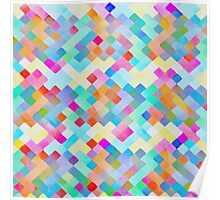Candy Blocks Poster