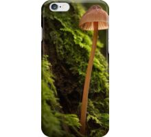 Fungi in the forest iPhone Case/Skin