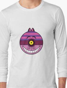 Cheshire Cat Pokemon Ball Mash-up Long Sleeve T-Shirt