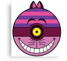 Cheshire Cat Pokemon Ball Mash-up Canvas Print