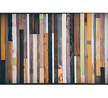 Reclaimed Wood  Photographic Print
