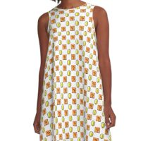 Classic Mario Pattern A-Line Dress