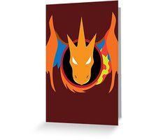Mega Charizard Y Icon Greeting Card