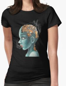 Human Machine Womens Fitted T-Shirt