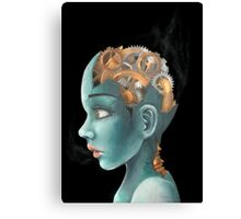 Human Machine Canvas Print
