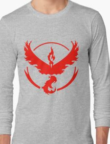 Pokemon Go: Team Valor Red Long Sleeve T-Shirt