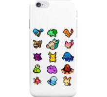 POKÉMON 8BIT Collection iPhone Case/Skin