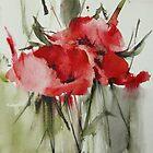 three poppies by annemiek groenhout