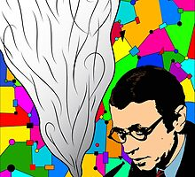 Jean-Paul Sartre (Revisited) by taudalpoi