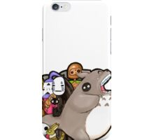 totoro and friends! iPhone Case/Skin