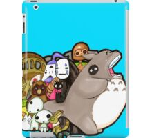totoro and friends! iPad Case/Skin