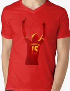 Daniel Sturridge Liverpool FC Mens V-Neck T-Shirt