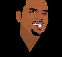 CHRIS BROWN  by Tloweart