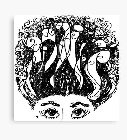 I LOVE MY HAIR! Canvas Print