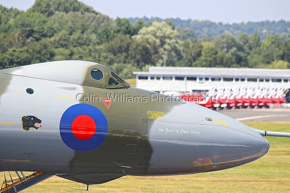 The Spirit Of Great Britain - Farnborough 2014 by Colin  Williams Photography