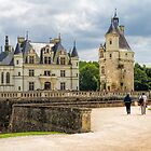 Cheateau de Chenonceau, France by Elaine Teague