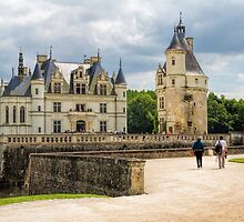 Chateau de Chenonceau, France by Elaine Teague