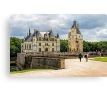 Chateau de Chenonceau, France Canvas Print