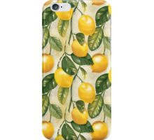 Lemons pattern iPhone Case/Skin