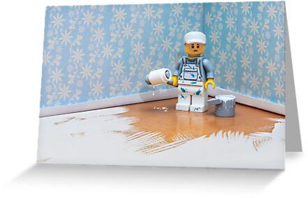 Lego Decorator by Kevin  Poulton - aka 'Sad Old Biker'