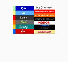 Jay Crownover Book Spines Unisex T-Shirt