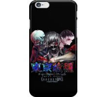 kaneki faces no upper text  iPhone Case/Skin