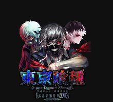 kaneki faces no upper text  Unisex T-Shirt