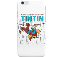 tintin iPhone Case/Skin