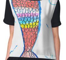 Mermaid tail Chiffon Top