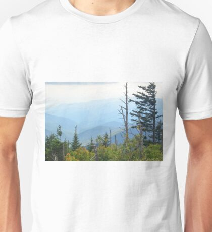 The Great Smoky Mountains, North Carolina. Unisex T-Shirt