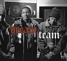 Illmatic Dream Team - Nas, DJ Premier, Q-Tip, Large Professor by hermitcrab