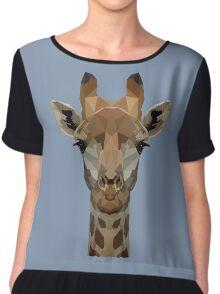 Giraffe Chiffon Top