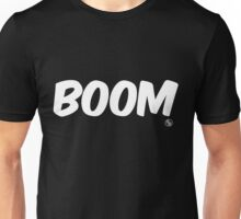 Boom (white) Unisex T-Shirt