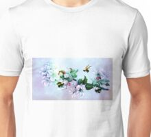 BEES AND BLOSSOMS Unisex T-Shirt