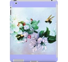 BEES AND BLOSSOMS iPad Case/Skin