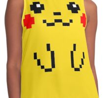 Pikachu 8BIT Collection Contrast Tank