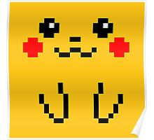 Pikachu 8BIT Collection Poster